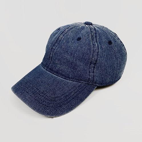 Blue Denim Cap (OS)