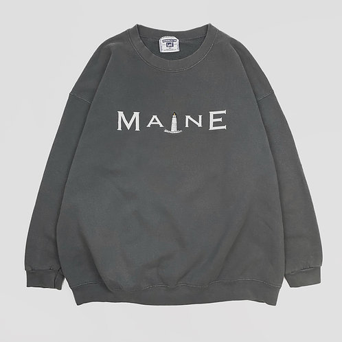 Maine Lighthouse Crew Sweatshirt (XL)