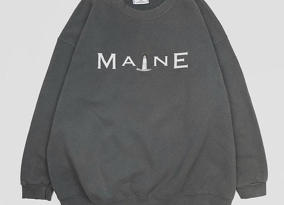Maine Lighthouse Crew Sweatshirt (XL)