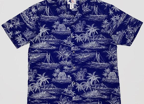1980s Hawaiian Shirt (M/L)