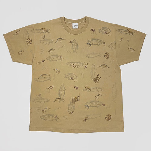 Fish & Lures Tee (L/XL)