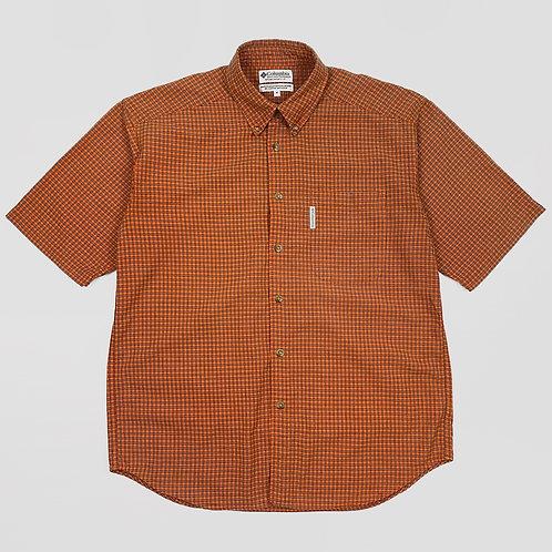 Columbia Plaid S/S Shirt (L)