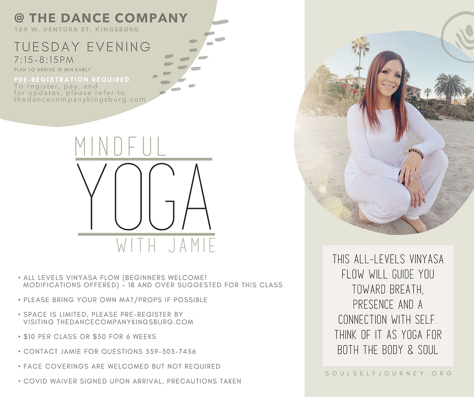 Copy of Tan Yoga Instructor Announcement