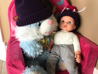 Toddler and Doll Hat