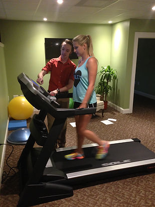 Exercise Treadmill at Trek Physical Therapy