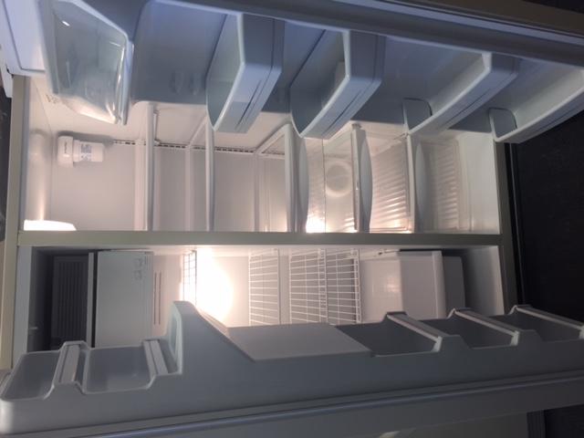 White Refrigerator - Interior
