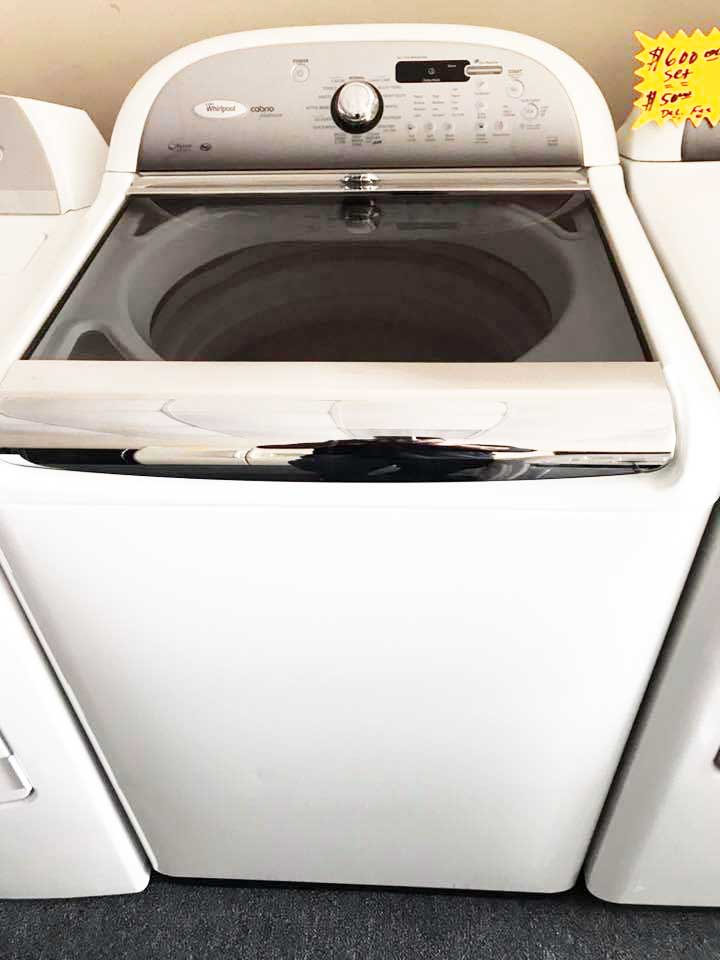 Top Load Washer with Clear Lid