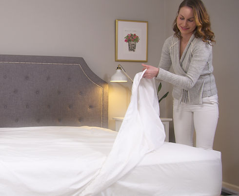 bed sheets, linen sheets, organic cotton sheets, bed-making made simple, Toesty Sheets, sheets that stay in place,