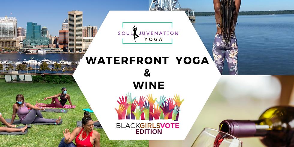 Waterfront Yoga & Wine - BGV Edition