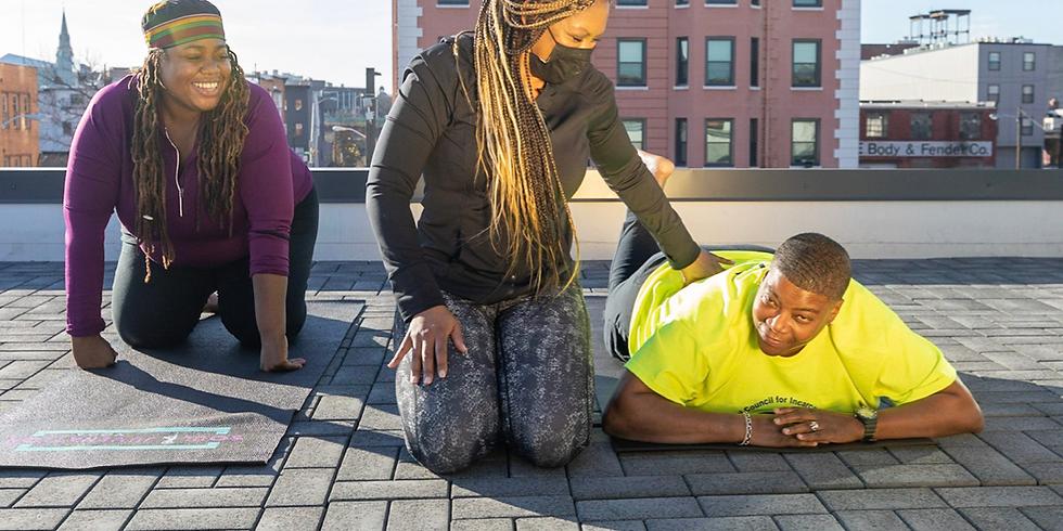 Rooftop Yoga