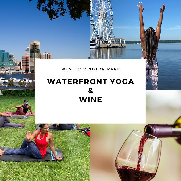 Waterfront Yoga & Wine 9/6