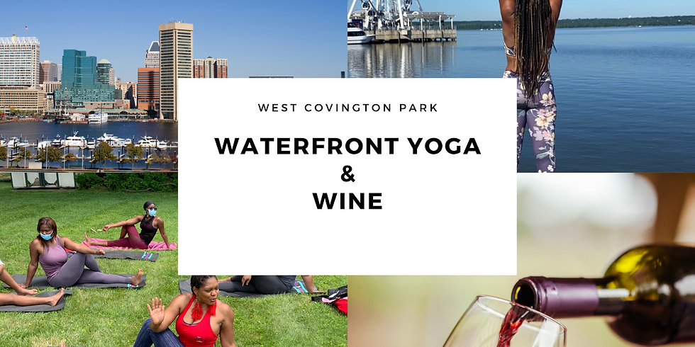 Waterfront Yoga & Wine 9/6