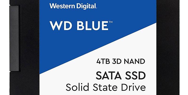 Western Digital Blue Series 3D NAND SATA III 2.5in Solid State Drive, 4TB