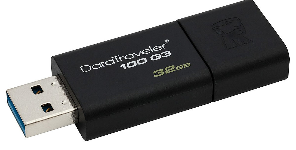 Kingston DataTraveler 100 G3 USB Drive, 32GB