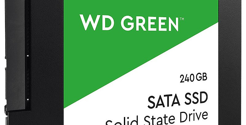 WD Green Series 3D NAND SATA III 2.5in Solid State Drive, 240GB