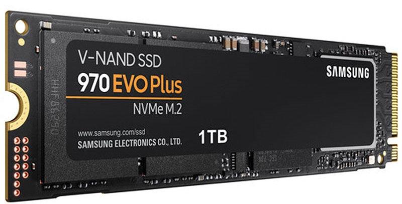 Samsung 970 EVO Plus NVMe M.2 PCI-E x4 SSD, 1TB