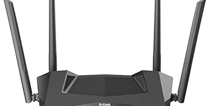 D-Link DIR-X1870 AC1800 Mesh Wi-Fi 6 Wireless Router