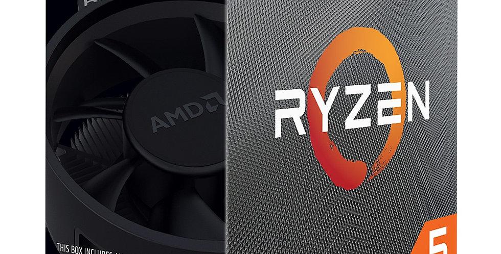 AMD Ryzen™ 5 3600 CPU, 3.6GHz w/ 35MB Cache