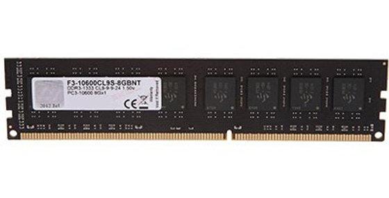 G.Skill 8GB DDR3-1333 Low Density CL9 DIMM