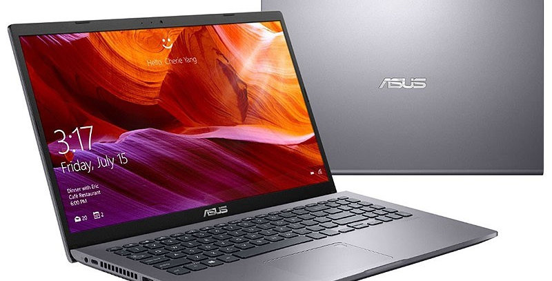 Asus X509JA-DB51 w/ Core i5-1035G1, 8GB, 256GB SSD, 15.6in Full HD, Win 10 Home