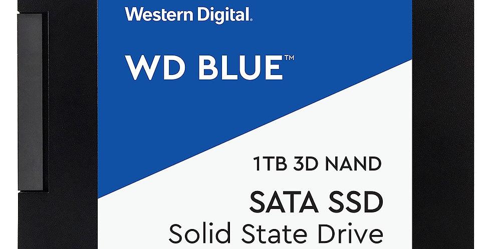 Western Digital Blue Series 3D NAND SATA III 2.5in Solid State Drive, 1TB