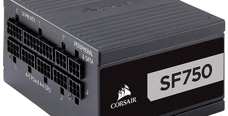 Corsair SF Series SF750 Platinum Modular SFX Power Supply, 750W