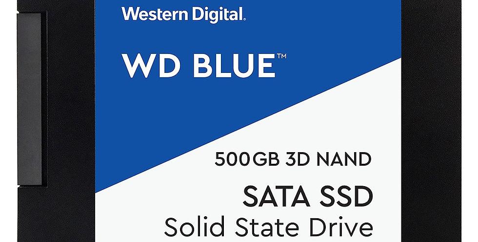 Western Digital Blue Series 3D NAND SATA III 2.5in Solid State Drive, 500GB