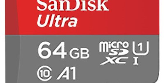 Sandisk Ultra microSDXC UHS-I Card, 64GB