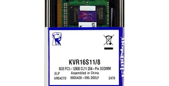 Kingston ValueRAM 8GB DDR3-1600MHz SODIMM for Notebooks