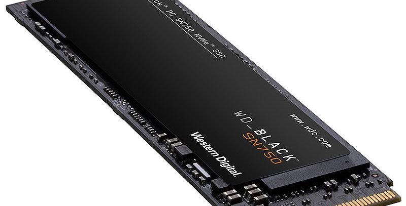 Western Digital Black SN750 NVMe SSD M.2 PCI-E x4, 250GB