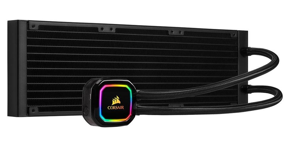 Corsair H150i RGB PRO XT Liquid Cooler w/ 360mm Radiator, 3x 120mm ML Series Fan