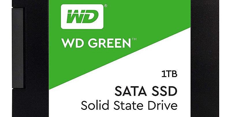 Western Digital Green Series 3D NAND SATA III 2.5in Solid State Drive, 1TB