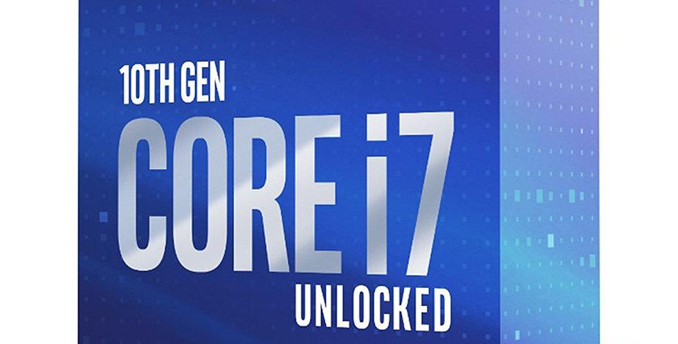 Intel Core i7-10700K CPU, 3.8GHz w/ 8 Cores / 16 Threads