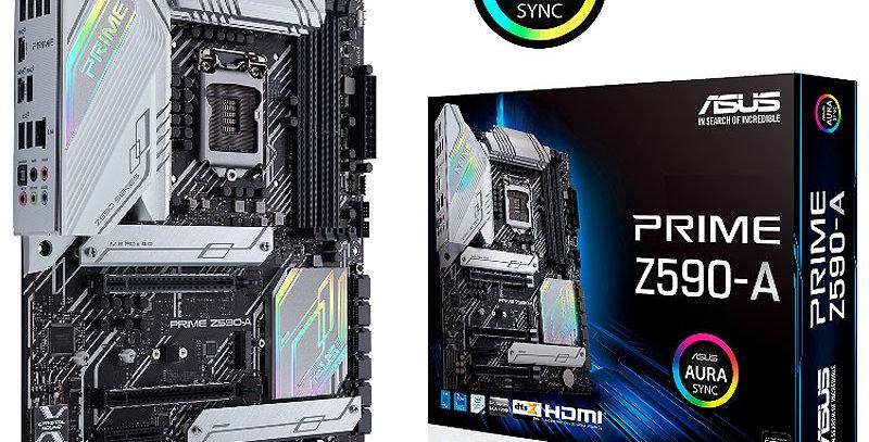Asus PRIME Z590-A w/ DDR4-3200, 7.1 Audio, Triple M.2, 2.5G LAN, USB 3.2 Type-C