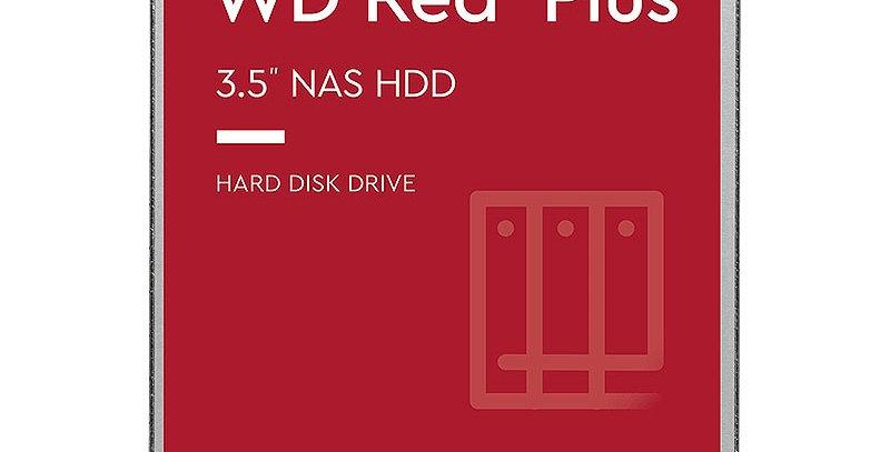 Western Digital RED Plus 10TB NAS Desktop Hard Drive, SATA III w/ 256MB Cache