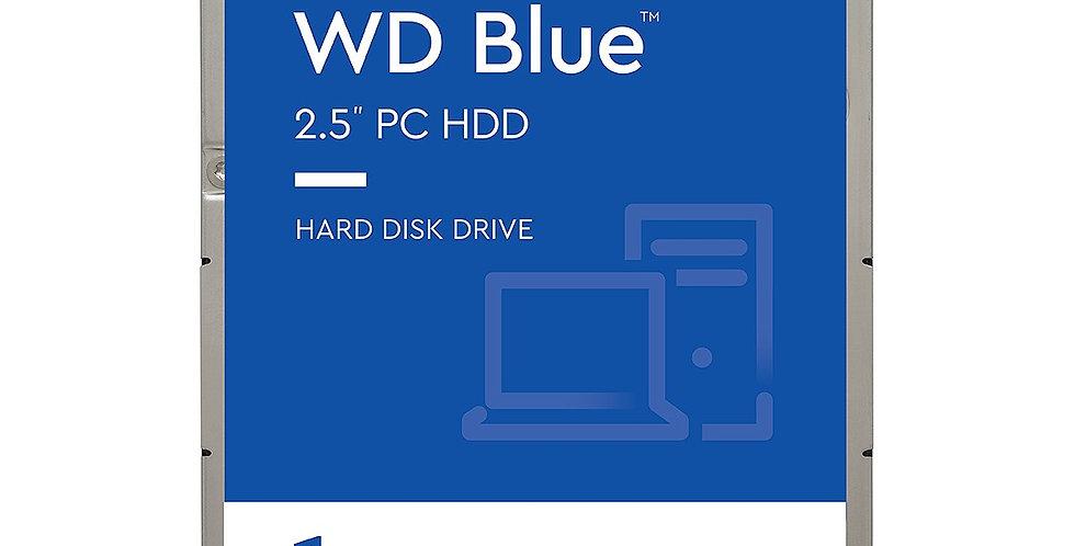 Western Digital Blue 1TB Mobile Hard Drive, SATA III w/ 128MB Cache