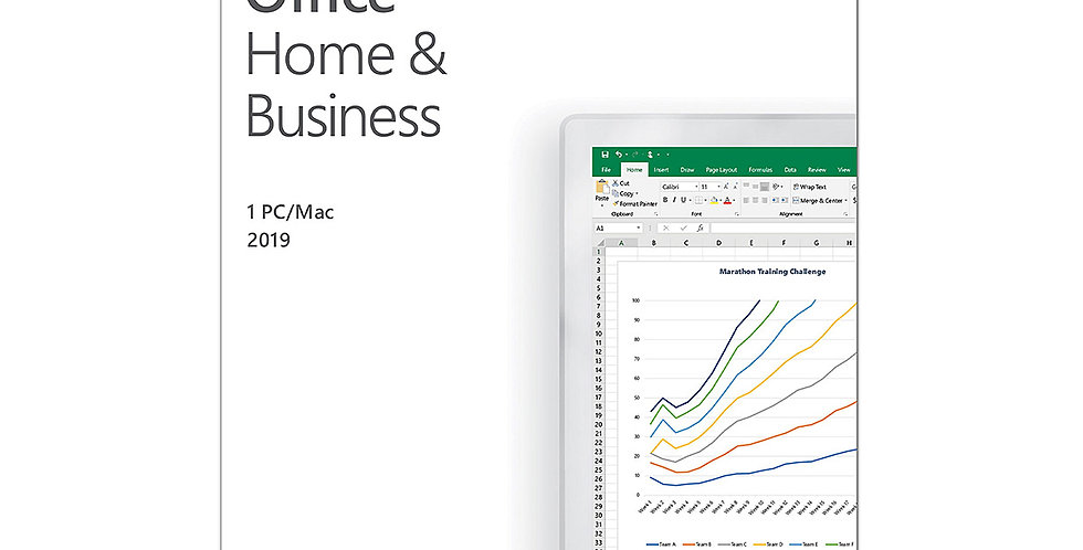 Microsoft Office Home & Business 2019 1 Person