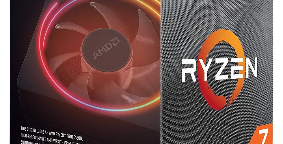 AMD Ryzen 7 3700X CPU, 3.6GHz w/ 36MB Cache