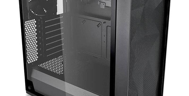 Fractal Design Meshify C TG Light Tint Mid Tower Case, Black w/ Tempered Glass