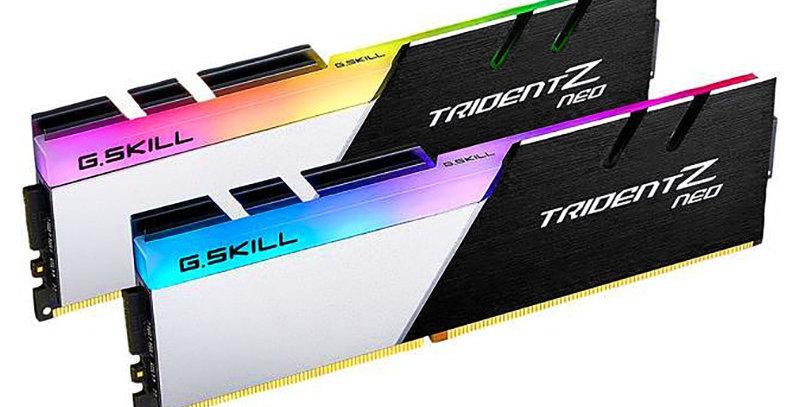 G.SKILL Trident Z NEO Series 64GB DDR4-3600 CL18 Dual Channel RAM Kit (2x 32GB)