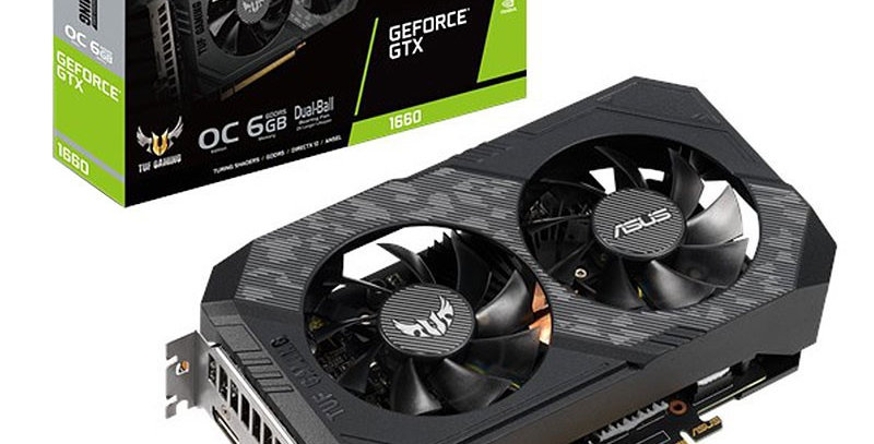 Asus TUF GTX1660S OC GAMING GeForce GTX1660 SUPER 6GB