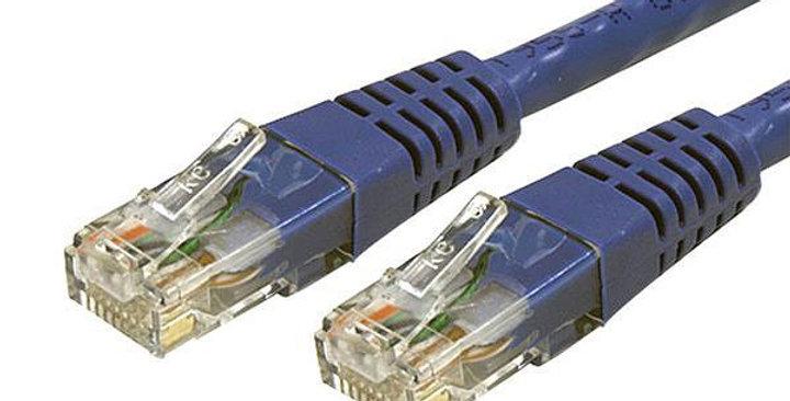 Startech Molded Cat 6 Patch Cable - ETL Verified, Blue, 25ft