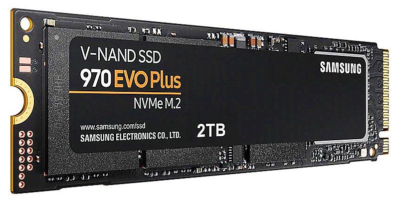 Samsung 970 EVO PLUS NVMe M.2 PCI-E x4 SSD, 2TB