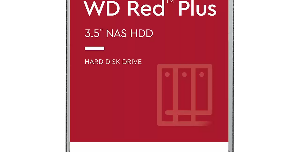 Western Digital RED Plus 14TB NAS Desktop Hard Drive, SATA III w/ 512MB Cache