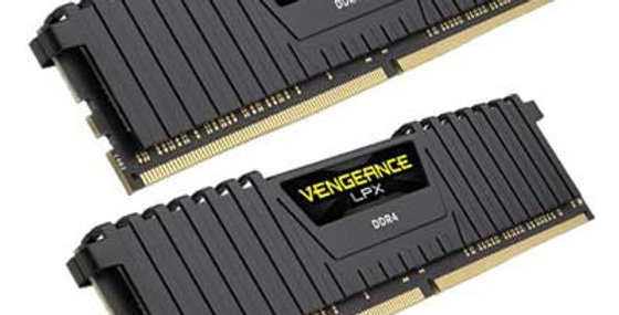 Corsair Vengeance LPX 16GB DDR4 3200MHz Kit (2x8GB), Black