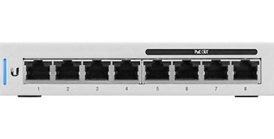 Ubiquiti UniFi 8 60W 8-Port Managed Gigabit PoE Switch