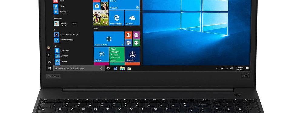 "Lenovo ThinkPad E590 15.6"" Core i5-8265U  4GB Ram 500GB HDD 15.6"" Win 10 Pro"