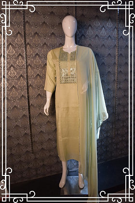 Kurta and dupatta
