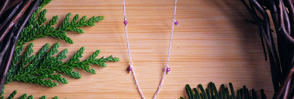Ruby Starlight Necklace