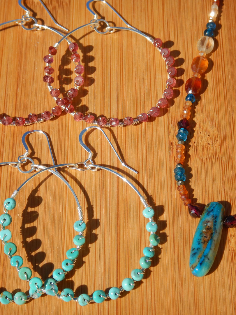 Garnets and Turquoise